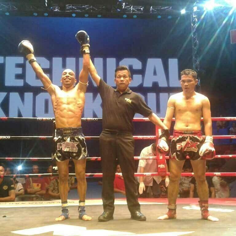 Félicitation au champion Bilel Bouhouch le titre du OCTA IN MAX MUAY THAI